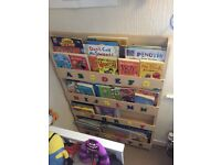"""Tidy Kids"" Alphabet Bookcase £30 ONO"