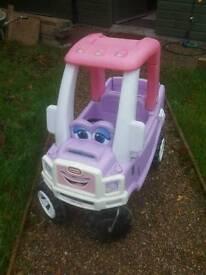 Little tikes pink cozy truck