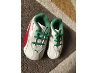 Puma baby trainers size 2