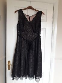 Black Monsoon snap dagon Dress size 18