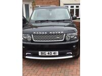 Range Rover Sport 3.0 V6 HSE Autobiography body styling