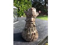 Garden tree man ornament statue
