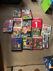 Football Annuals and Boxing Comics Joblot
