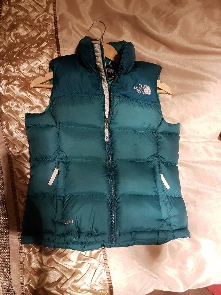 Womens north face gilet XS