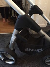 Hauck lacrosse travel system near new