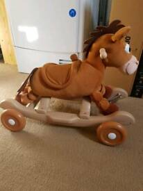 Bullseye rocking horse and wheels