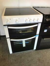 New 60cm ceramic cooker...CURRYS PRICE £279....free delivery installation