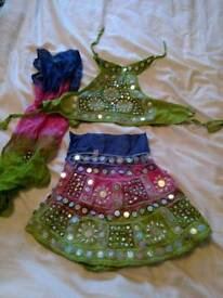 Indian baby girl outfit. Chania Choli