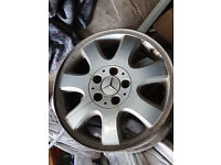 Mercedes. Mirzam Alloy wheels 16 inch ideal for winter tyres for CLKand other merc