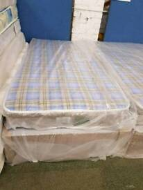 Chester standard Single Mattress and Base