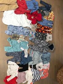 Kids clothes bundle age 0-1