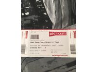 Jake bugg tickets x2 Victoria hall stoke