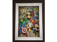 Avengers Liquid Art Work (Brand New)