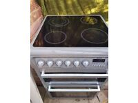 DOUBLE OVEN HOTPOINT ELECTRIC COOKER