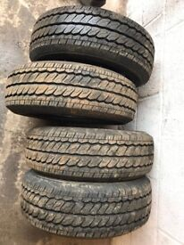 X4 Durabldemax tyres