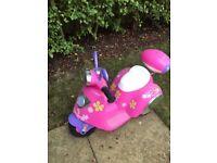 Children's Vespa scooter