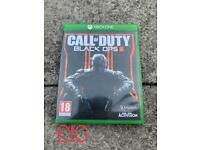Call of duty black ops 3 Xbox one game