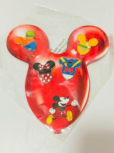 HKDL Dinsey MA Balloon 4 Pin Set (Minnie Donald Pluto Goofy)