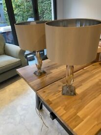 2 NEXT TABLE LAMPS £20 EACH