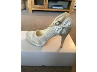 Stunning dimante wedding shoes £45