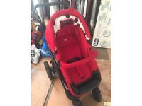Oh Baby ZeZu Multi Pram and Pushchair / Buggy + Compatible Car Seat (Mothercare Travel System)