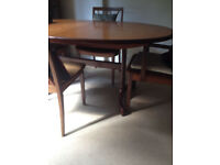 Plan G Dining Room Table with 5 Chairs - free to a good home