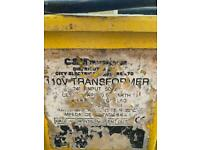 110v transformer with cables