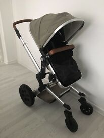 Joolz pram with bag and umbrella & cosy toes & more in info