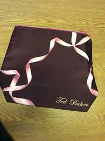 Genuine Ted Baker ballet shoes make up bag
