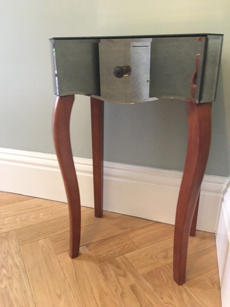 Laura Ashley Antique Mirrored Bedside Chest Table In York North Yorkshire Gumtree