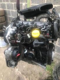 Renault Traffic Vivaro primaster f9k engine