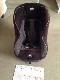 Britax car seat (9months-4years)