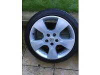 vauxhall alloys 17 inch