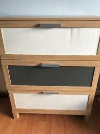 Ikea drawers- only 6 months old, great condition.