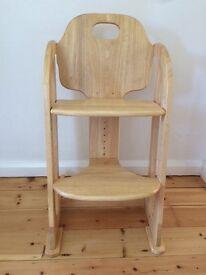 East Coast wooden highchair