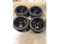 """Set of 20"""" alloy wheels and tyres Vw T5 T6 Transporter"""
