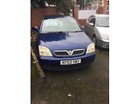 Vauxhall vectra c 1.8 full mot
