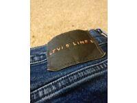 Levi's Line 8 jeans - size 26R