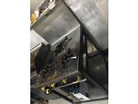 COMMERCIAL 3 stove gas cooker