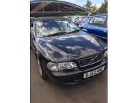VOLVO C70 20 T GT PETROL CONVERTIBLE MANUAL BLACK WITH FULL SERVICE HIS