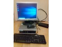 Dell OptiPlex 755 USFF Computer, Dual Core, 2GB RAM, 150GB HDD,PSU, Windows 10