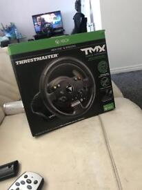 Xbox and windows thrustmaster wheel