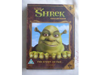 THE SHREK COLLECTION DVDS