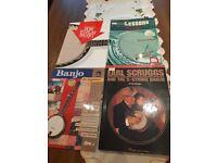 Banjo teaching books