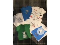 Paul Smith baby boy tshirt bundle - 6 Tshirts are like new, varied ages