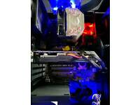 AMD FX 8320 CPU, Asus sabertooth motherboard, cooler master CPU cooler bundle