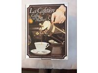LA CAFETIERE. COFFEE & TEA MAKER. 12 CUPS. 1.5L. IN BOX. USED BUT EXC. COND.