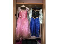 Girls Disney dressing up outfits