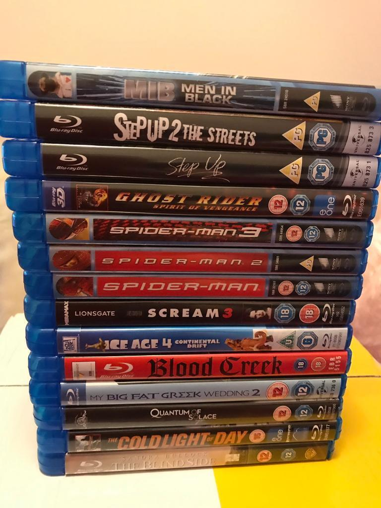 14 Mint Blu Ray Movies | in Manchester | Gumtree