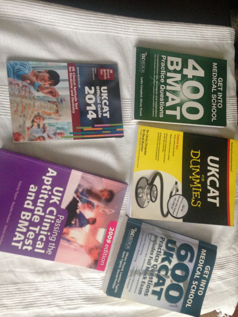 Selection of get into medical school books